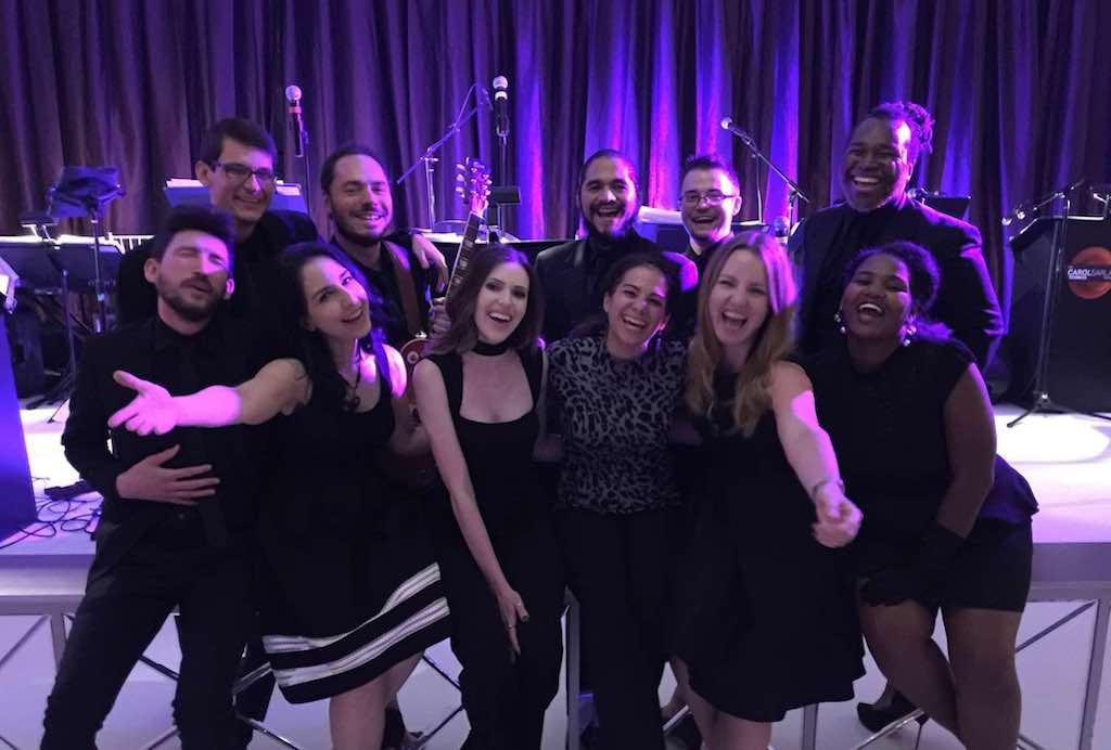 Carol Sarlas Orchestra Wedding Band Live Singers Listen to